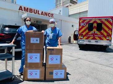 shipping medical supplies