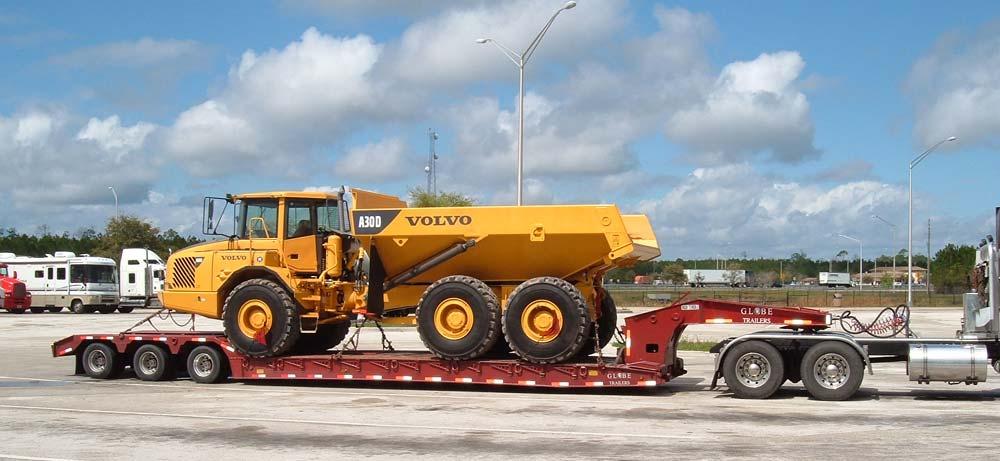 vehicle or equipment transportation trailer